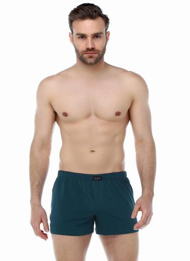 Guda Erkek Boxer Havlu Bel 13852 Yeni Yeşil Yeşil